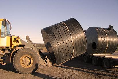 آشغالگیر سبدی پلی اتیلن – فراز تجهیز راویس