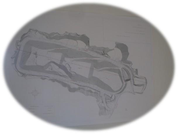 شکل1: نقشه توپوگرافی پروژه